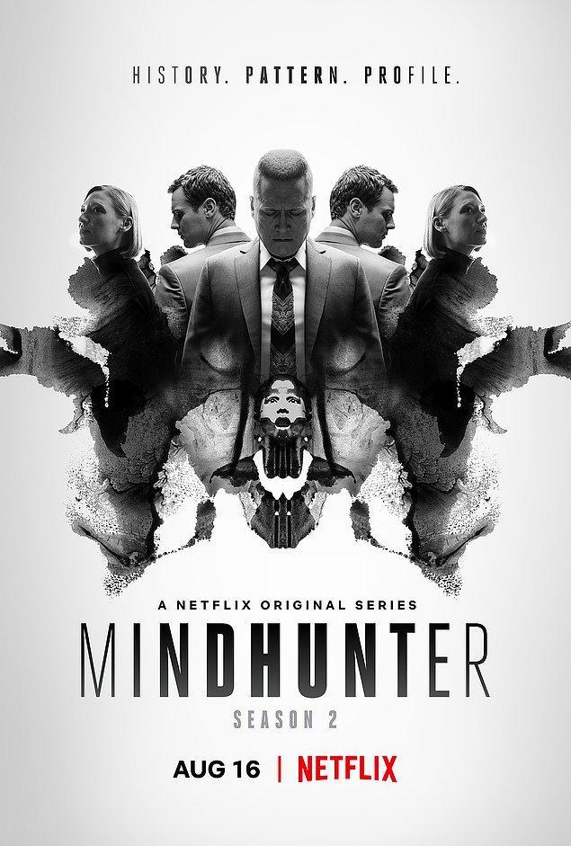 3. Mindhunter - IMDb: 8.6