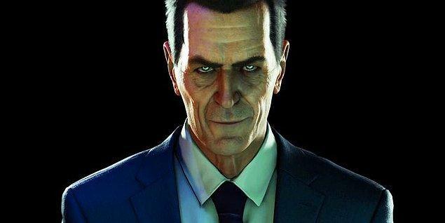 4. G-Man - Half-Life Serisi