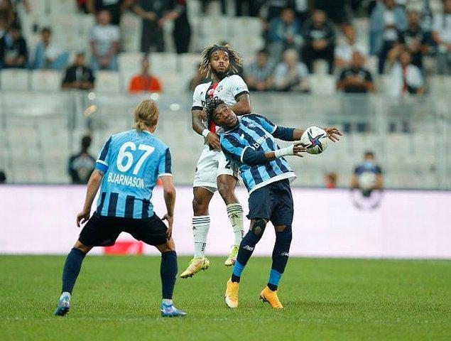 Beşiktaş, Süper Lig'in 6. haftasında Adana Demirspor'u konuk etti.