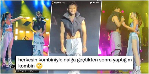 Zeynep Bastık'ın Harbiye Konserine Konuk Olan Reynmen'in Sahne Kıyafeti Çok Fena Dalga Konusu Oldu!
