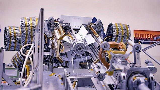 Aracın güç kaynağına 'Çok Görevli Radyoizotop Termoelektrik Üreteci' deniyor.