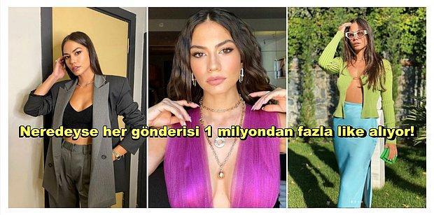 Demet Özdemir'in Göz Kamaştıran ve Beğenileri Toplayan Sosyal Medya Paylaşımları