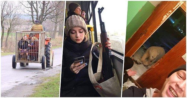 Ruslar İçin Oldukça Normal Olmasına Rağmen Dünyanın Geri Kalanında Şok Etkisi Yaratan 31 Fotoğraf
