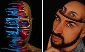 Итальянский визажист использует свое тело как холст для создания реалистичных оптических иллюзий (20 фото)