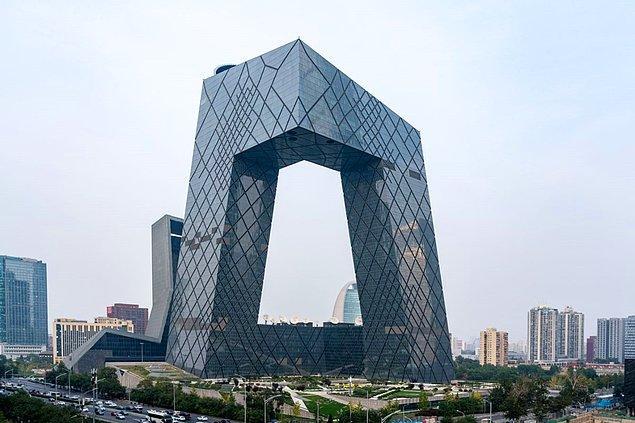 4. Çin Ulusal Yayın Binası - Pekin