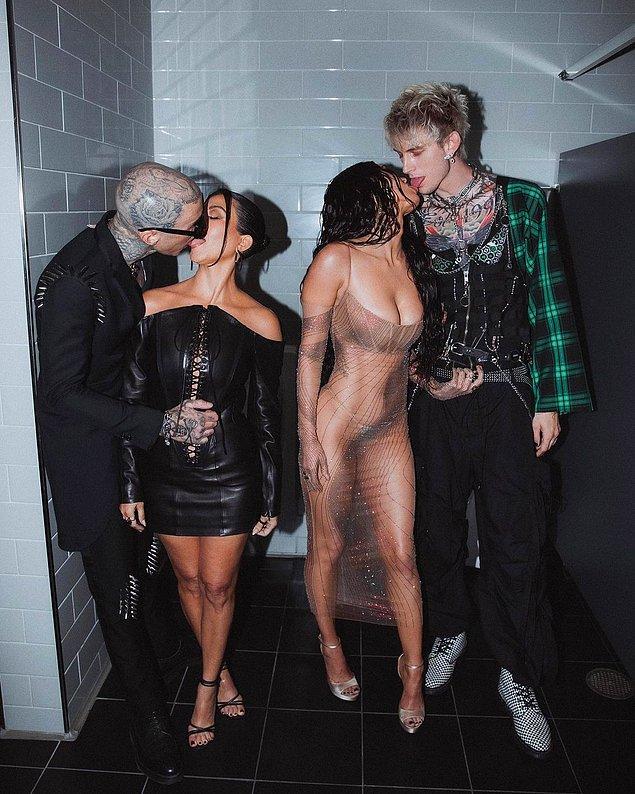 Son olarak Met Gala'da erkek arkadaşları ile erkekler tuvaletinde öpüşürken fotoğraf çektirip, paylaşmışlardı.