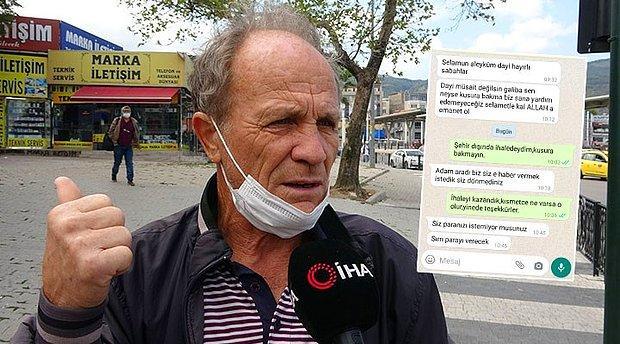 60 Bin Lira Dolandırılan Yaşlı Adam, 'Paranı Geri Vereceğiz' Vaadiyle 3 Bin Lira Daha Dolandırıldı