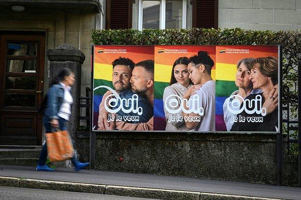 İsviçre, Eşcinsel Evliliğin Yasallaşması İçin Sandık Başına Gidiyor