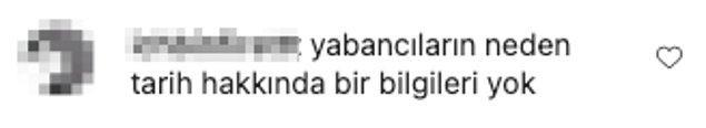 Bu durum Türkleri epey kızdırdı ve yorum yağmuruna tuttular;