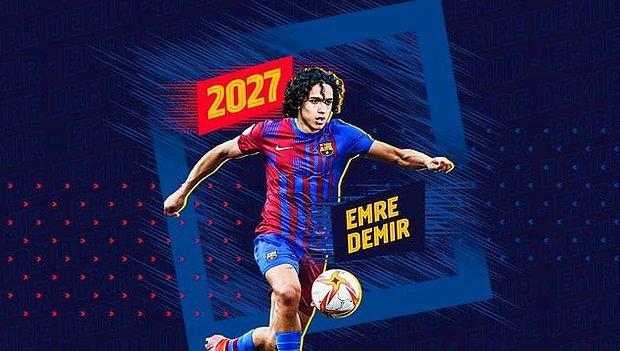Son Dakika: Kayserispor'un Genç Yeteneği Emre Demir Barcelona'ya Transfer Oldu!