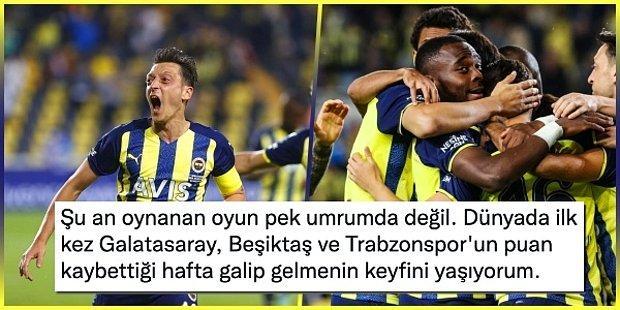 Sürprize İzin Yok! Fenerbahçe Rakiplerinin Puan Kaybettiği Haftada Giresunspor'u Geçerek Haftayı Kârlı Kapattı
