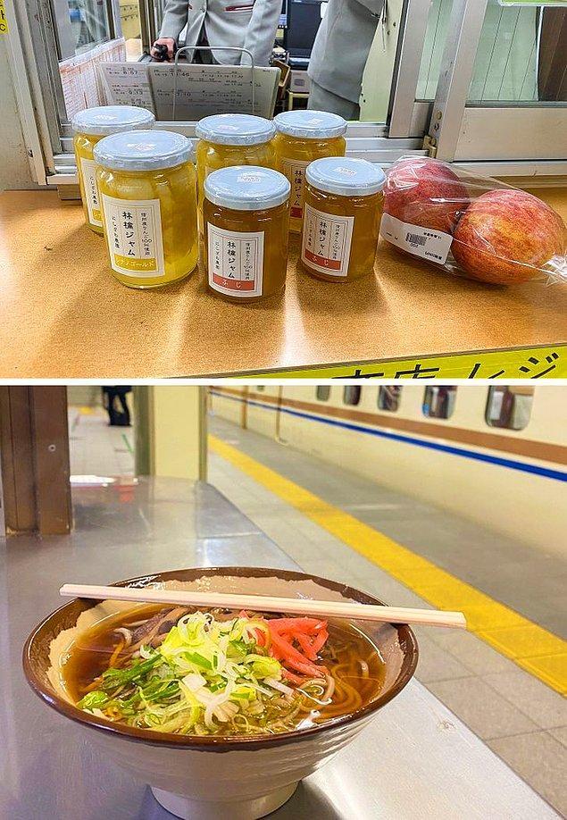 7. Bazı metrolarda market alışverişi yapabileceğiniz yerlerin yanı sıra ayrıca öğle yemeğinizi bile yiyebilirsiniz!