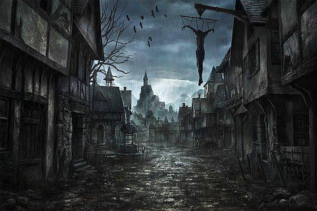 Bu öyle bir buluttu ki dünyayı karanlığa boğmuştu, gündüzler bile karanlıktı.