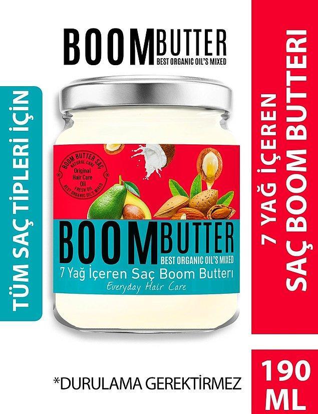 2. Saç Boom Butter'ı da en çok satanlar arasında.