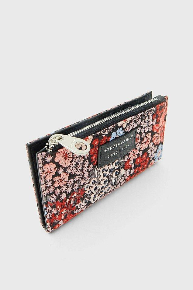 17. Daha renkli cüzdan modelleri seçenlere, bozuk paralarınız için çiçekli cüzdan...