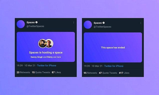 Twitter, sohbet odaları üzerinden para kazanan kullanıcılarının popülerliğine göre pazarlama ve teknik destek sağlayacağını çok önceden duyurmuştu.