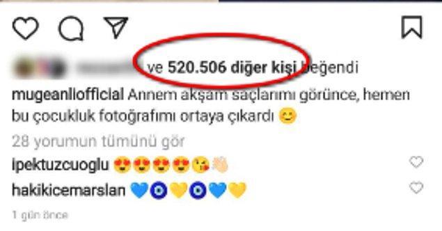 Müge Anlı'nın bu gönderisi kısa zamanda 520.506 kişi tarafından beğenildi. İnanılmaz!