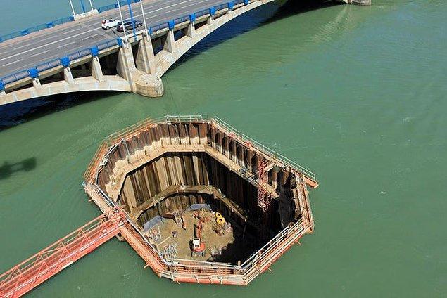 12. Suyun üstündeki köprülerin temeli nasıl atılır?