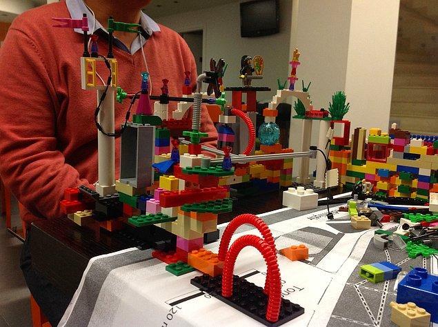9. Legoyla yaratıcılığınızı geliştirirken zamanı unutacaksınız...