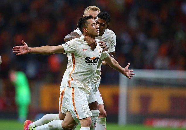 Galatasaray 1-0 geriye düştüğü maçı 2-1 kazandı.