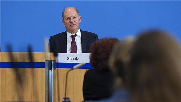 Scholz, Alman halkının kendisini başbakan görmek istediğini söyledi