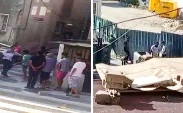 Görüntüler İstanbul'dan: Uyuşturucu Alabilmek İçin Kuyruğa Girdiler!