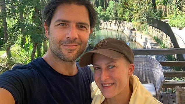 10. Kanser tedavisi gören Canan Ergüder'den eşi Kenan Ece ile tatil pozu geldi!