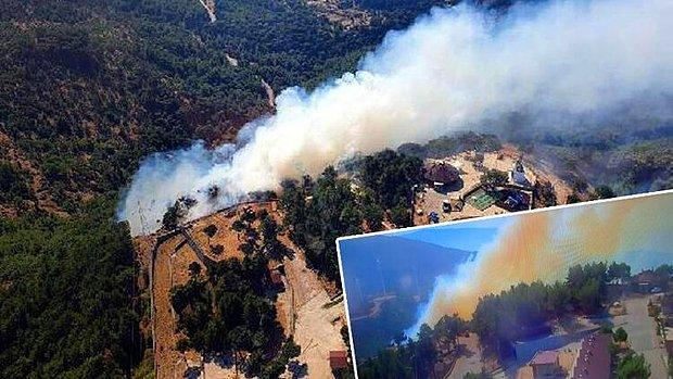 Ekipler Müdahale Ediyor: İzmir'de Orman Yangını