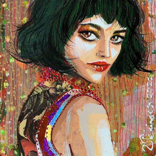 Anastasija Vera'nın Portresi, 2021