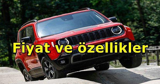 Üçlü Priz Hazır mı? Şarj Edilebilir Jeep Renegade 4xe Türkiye'de Satışa Sunuldu!