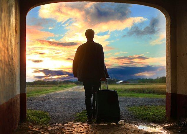 8. Seyahat ederken çok daha dikkatli olun.
