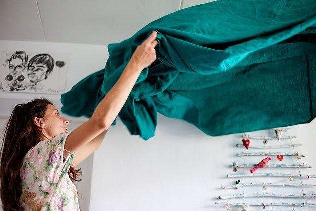 12. Ev toparlamak, temizlikle uğraşmak size iyi gelecek.