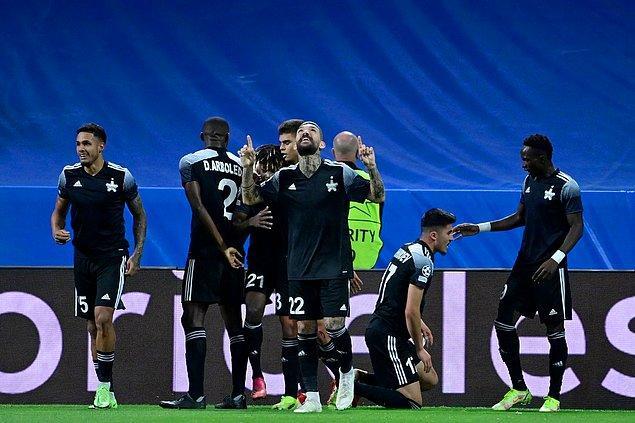 Şampiyonlar Ligi'nde çıktıkları ilk grup maçında Shaktar Donetsk'i mağlup eden Sheriff, ikinci maçında da İspanyol devi Real Madrid deplasmanından 2-1'lik galibiyetle ayrıldı.