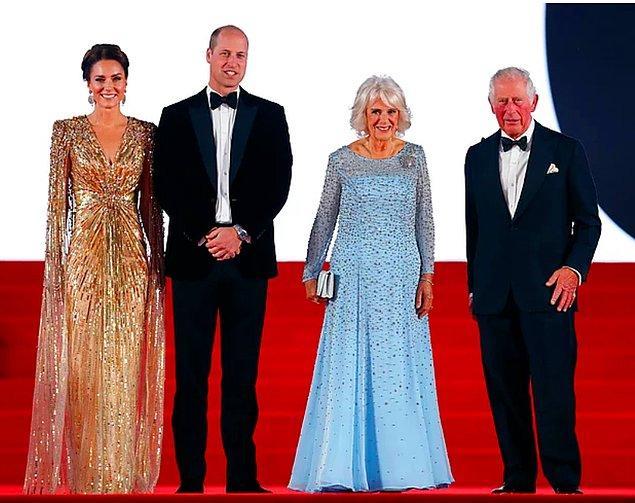 5. 'No Time To Die' galasına katılan Kate Middleton'ın büyüleyici kıyafetini inceledik!