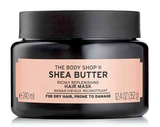 8. THE BODY SHOP Shea Yenileyici Saç Maskesi