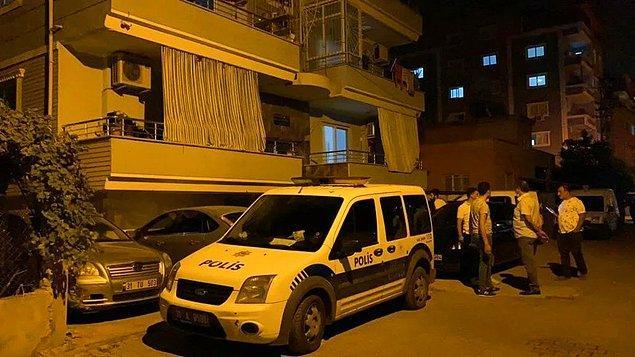 Türk bayrağı örtülü cesetler bulundu