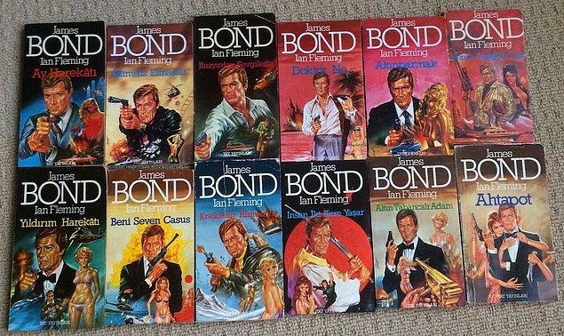 1 - James Bond, aslında bir romandı.