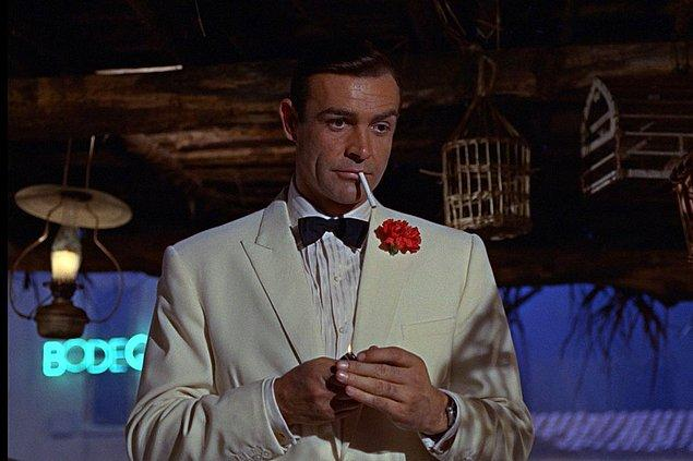 2 - Sean Connery, film için peruk takıyordu.