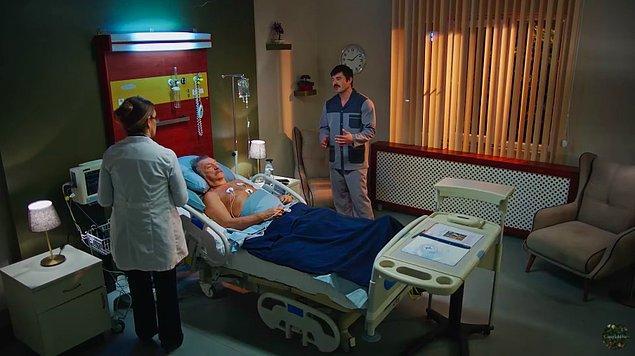 Bu sırada Hayri, Rafet Bey'i hastaneye götürdü ve neler yaşandığını anlattı.