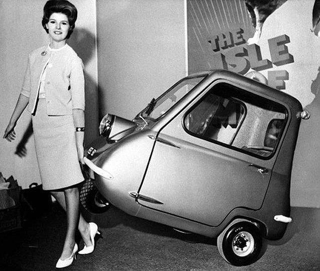 12. Sizleri dünyanın en küçük arabası olan Peel P50 ile tanıştıralım...👇