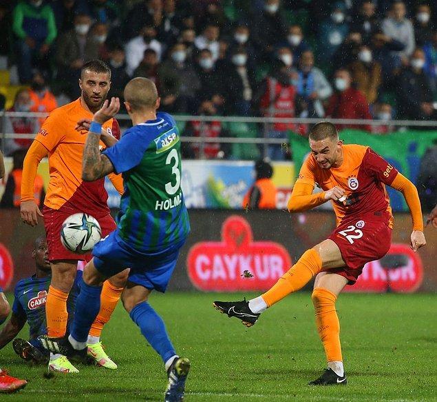 Cimbom tam 5 golün atıldığı, 1 penaltının kaçtığı ve 1 kırmızı kartın çıktığı maçta Karadeniz ekibini 3-2 mağlup etmeyi başardı.