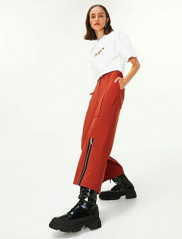 2. Twist markasının tarzını sevenler bu pantolonu da çok sever.