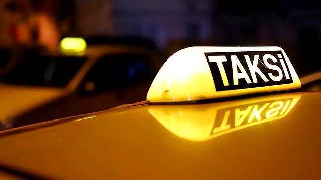 14. Taksi şoförü ile girilen her türlü konu