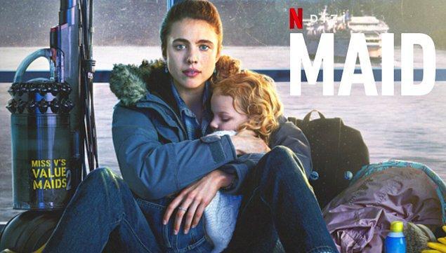 Başrollerinde Billy Burke, Andie MacDowell ve Margaret Qualley'ın yer aldığı Maid'in konusu ise şöyle: