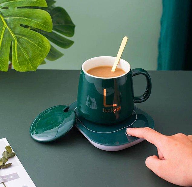3. Kullanışlı ısıtıcılı kupa modelleri ile sevdiklerinizi şaşırtın! 🥰