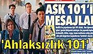 AŞK 101 Dizisi Osman Karakterinin Ardından Şimdi de Olumsuz Mesajlar Verdiği Söylenerek Hedef Gösterildi