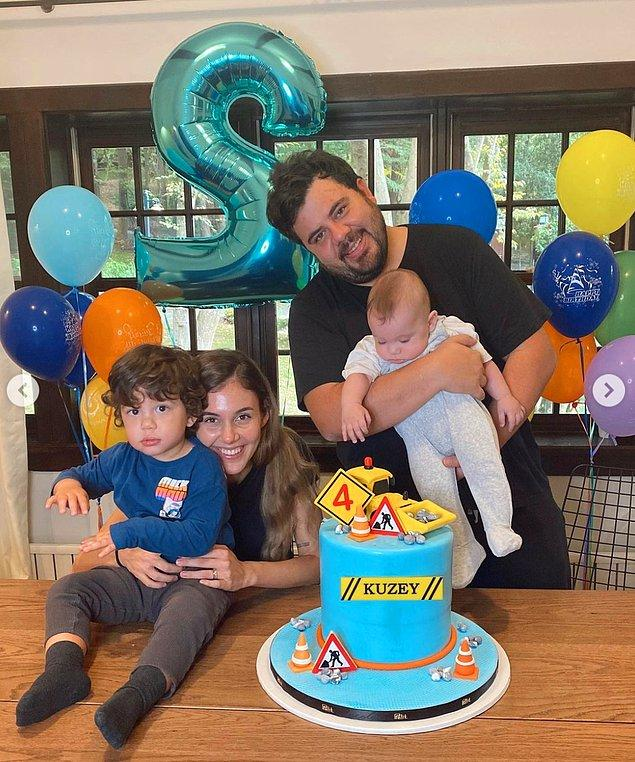 9. Berfu Yenenler de ilk oğlu Kuzey'in ikinci yaş doğum gününü duygusal bir paylaşımla kutladı!