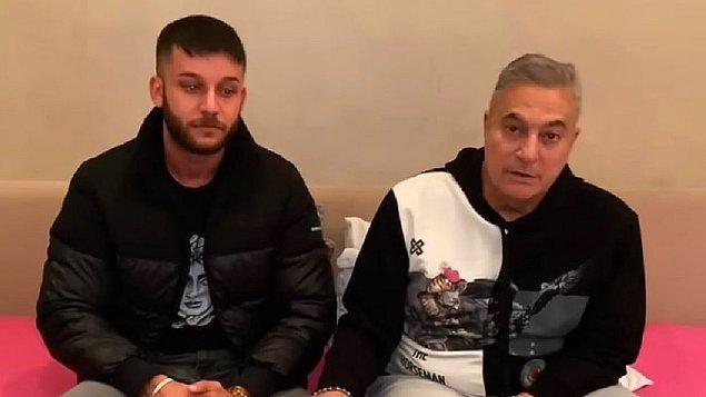"""Mehmet Ali Erbil paylaşımında """"Yanımda Mehmet kardeşim var. Ece Ronay'ın nişanlısı. Ben Ece Ronay'ın nişanlı olduğunu dahi bilmiyordum. Bu konuyu artık kapatalım diye kardeşimi davet ettim. Hem karşı tarafa hem bana zarar veriyor"""" dedi."""
