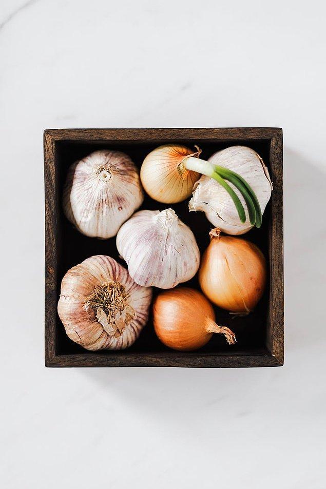 14. Soğan ve sarımsak