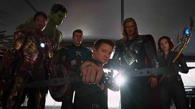 4. The Avengers (Yenilmezler) - IMDb: 8.0